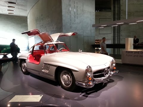 Mercedes Benz Museum Stuttgard-  A Must go to any true petrol head/car guy