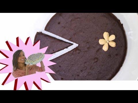 torta cacao e mandorle vegana e senza colesterolo