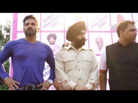 Suniel Shetty Flags Off Kalina Marathon In Style!