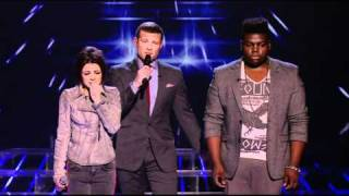 The X Factor Paije Richardson and Cher Lloyd Voted Off
