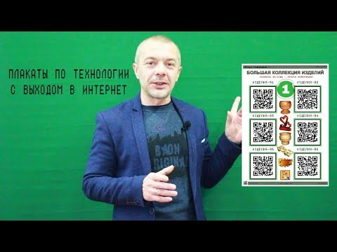 Плакаты по ТЕХНОЛОГИИ с выходом в ИНТЕРНЕТ (видео)