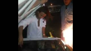 Alhamdulillah Habib Bahar Bin Smith Selamat Dari Kecelakaan Mobil