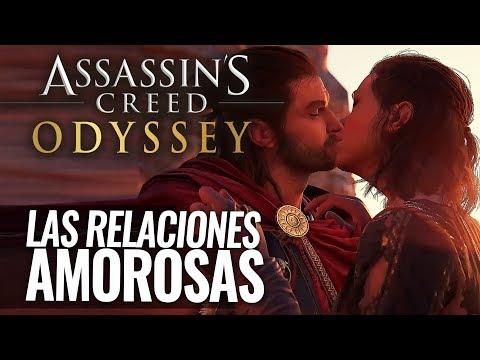 Assassin's Creed Odyssey   Podremos tener DIFERENTES ROMANCES con VARIOS PERSONAJES en el juego