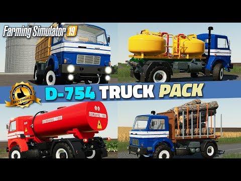 D-754 Truck Pack v1.2.0.0