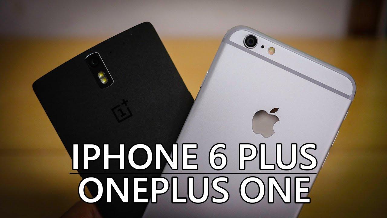 iPhone 6 Plus vs OnePlus One – Quick Look