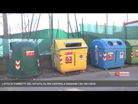LOTTA AI 'FURBETTI' DEL RIFIUTO, OLTRE VENTIMILA SANZIONI | 20/09/2020