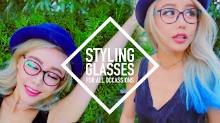 8 Looks ♥ How to Style Glasses for All Occasions ♥ Wengie by The Wonderful World of Wengie