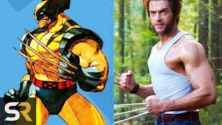 Video 10 Superheroes Who Look NOTHING Like The Comics (Wolverine, Deadpool and more!) MP3, 3GP, MP4, WEBM, AVI, FLV Januari 2018