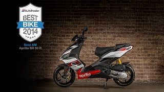 10. 2014 Best AM Bike: Aprilia SR 50 R - Auto Trader Best Bike Awards