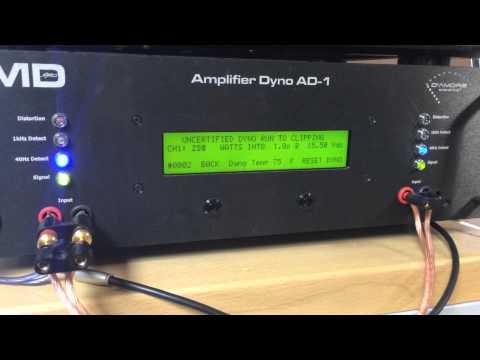 SMD AD-1 AMP DYNO : Skar Audio SK-1500.1D Certified / Uncertified / Dynamic Burst Runs