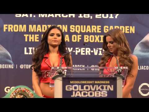 Golovkin v Jacobs: New York Press Conference