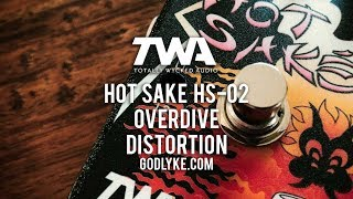 """http://www.godlyke.com/totally-wycked-audio-effects-pedals/hand-built/hot-sakeThe Hot Saké begins where an 808 finishes and lurches into Muff territory from therein. It will do boost, it will do smooth overdrive, crunchy overdrive, big bottom overdrive, distortion... right up to huge butt big muff type tones. It's very versatile! A tone, mids, low boost and low boost freq shift, along with the usual gain and level controls are all you need to have a good night with some Hot Saké™. This is a pedal that may have flown under the radar for some but I suggest you dip into the exotic and check it out. It's worth a taste or two. Today's tools:Guitar: Ernie Ball Music Man Albert Lee HH (stock).Amp: Laney VH100R and Laney 2x12 cab with Greenback G12M'sExtra effects: N/ACables: ProvidencePower Supply: Voodoo Lab MONDOMic: sE V3 Dynamic and VR1 (https://www.seelectronics.com) (Laney);  Samson Airline77 (me)Camera: Canon 60D (me) and Nikon D5100 (pedal)Soundcard: AVID Mbox Pro 3 (for recording) & Fractal Audio Systems Axe-FX II XL+ (mixing and bouncing).Computer: Apple iMac 27"""" i7 3.4 GHz 16 GB RAMSoftware: Logic Pro X, Waves L3-16 Limiter (to keep levels in check at output), Apple Final Cut Pro X (video editing and Youtube compression)."""