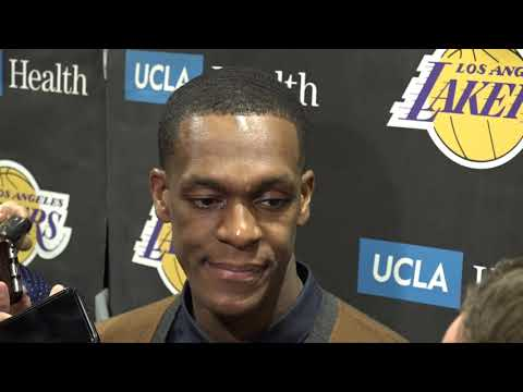 Video: Rajon Rondo Reacts To Game-Winning Shot After Lakers Beat Celtics