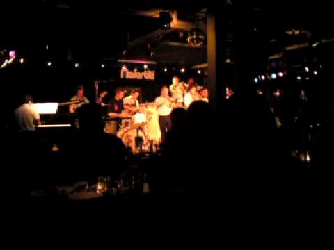 Janne Ersson Monster Big Band trumpet solo