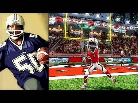 Kinect - Kinect Sports 2 - ActionCam Peyton Manning Dance | Madden 25 Needs This I decided to try something different and play some live action Kinect Sports Football...