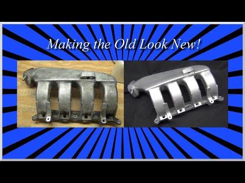 The Restoration Technique You Never Hear About   Restoring a Mopar Intake Manifold