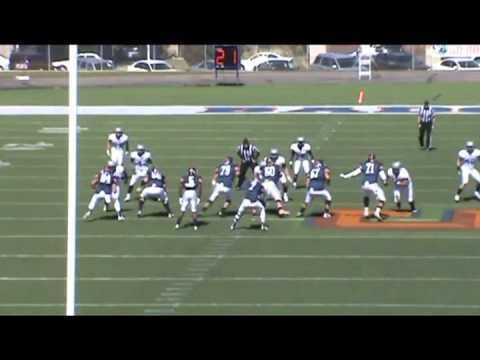 denucci - Darren Denucci #56, Snow College Football Highlights (6'5