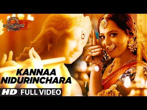 Video Kannaa Nidurinchara Full Video Song | Baahubali 2 | Prabhas, Anushka Shetty, Rana, Tamannaah download in MP3, 3GP, MP4, WEBM, AVI, FLV January 2017