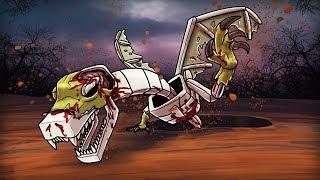 Minecraft   DEAD DRAGON COMES BACK TO LIFE! (Zombie Dragon Attacks)