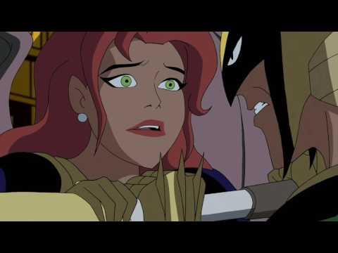 Hawkgirl and Green Lantern vs. Hro Talek