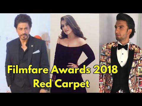 Bollywood stars on Filmfare Awards 2018 Red Carpet