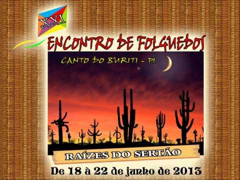 Chamada Folguedos Canto do Buriti 2013
