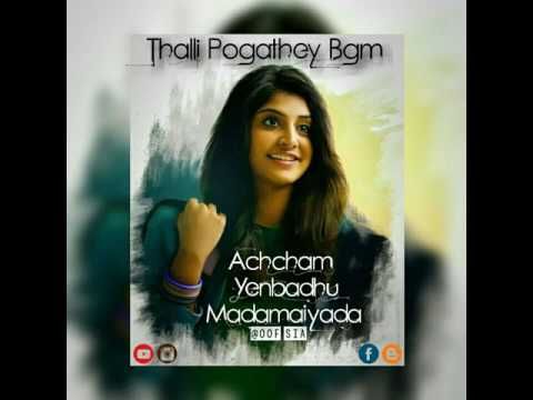 Video Sia - Thalli Pogathey Bgm | AYM download in MP3, 3GP, MP4, WEBM, AVI, FLV January 2017