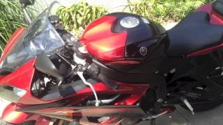 8. 2012 Yamaha R6 Walk Around
