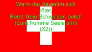 Hymne National De La Suisse Allemand