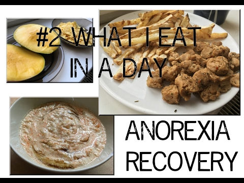 #2 WHAT I EAT IN A DAY with calories | ANOREXIA RECOVERY | VEGAN
