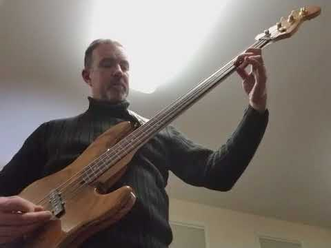 Fender Victor Bailey Fretless - Riff in Drop C#