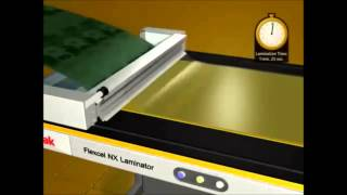 Kodak -  FLEXCEL LAMINATOR  - Lamination machine development
