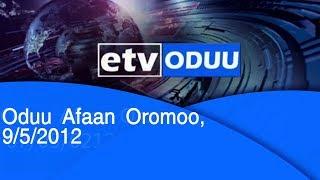 Oduu Afaan Oromoo, 9/5/2012  etv