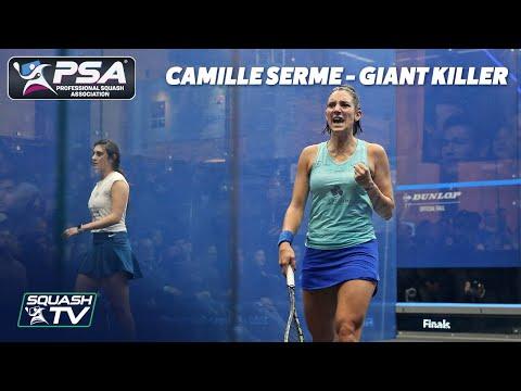 Squash: Camille Serme - Giant Killer - ToC2020