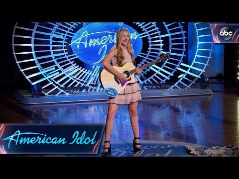 Download Video Harper Grace Auditions For American Idol With Down-home Original Tune - American Idol 2018 On ABC