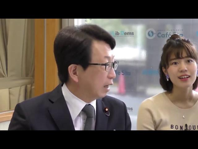第203回カフェスタトーク【築地魚河岸三代目 生田よしかつさん】