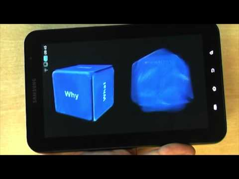 Video of Question Dice