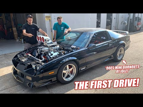 FIRST DRIVE In Our 10.3L Supercharged Big Block Camaro! **GRAB YOUR MULLETS**