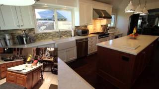Design Build Two Island Kitchen Remodel in Fountain Valley by APlus