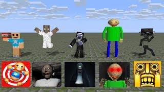 Video Monster School: SEASON 1 BEST ALL EPISODE - Minecraft Animation MP3, 3GP, MP4, WEBM, AVI, FLV Desember 2018