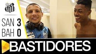 Santos 3 x 0 Bahia  BASTIDORES  Brasileirão (23/07/17)