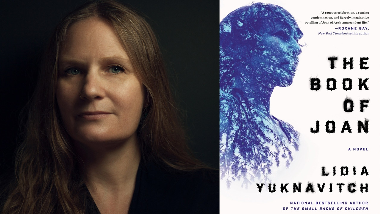 Lidia Yuknavitch on The Book of Joan: A Novel at the 2017 AWP Book Fair