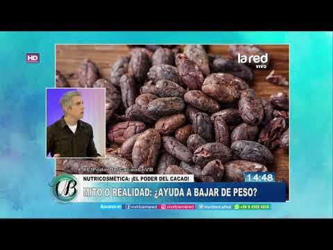 Peso ideal - ¿El cacao ayuda a bajar de peso?