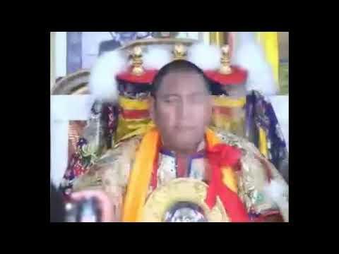 Trance of Wrathful Dorje Shugden at Shar Gaden Monastery