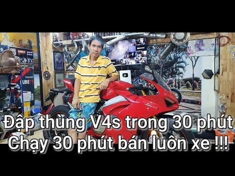 Ducati V4s - Khi đam mê được thỏa mãn thì bán mua xe khác !!! - Thời lượng: 8:37.
