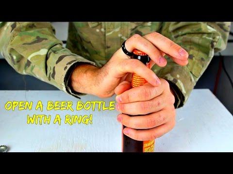 必學!!超MAN戰鬥民族絕技,教你如何『不用』開瓶器打開啤酒瓶!!