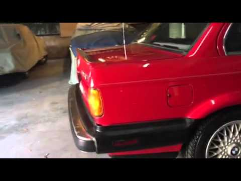 1988 BMW 325IX E30 AWD All Wheel Drive coupe.