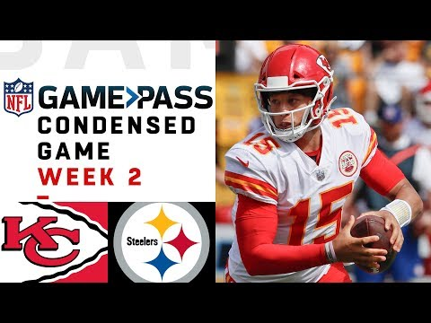 Chiefs vs. Steelers | Week 2 NFL Game Pass Condensed Game of the Week (видео)