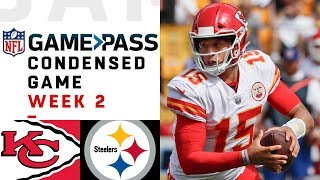 Video Chiefs vs. Steelers | Week 2 NFL Game Pass Condensed Game of the Week MP3, 3GP, MP4, WEBM, AVI, FLV Mei 2019
