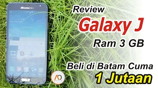 Video REVIEW Samsung Galaxy J RAM 3 GB Beli Di Batam Cuma 1 Jutaan... MP3, 3GP, MP4, WEBM, AVI, FLV September 2017